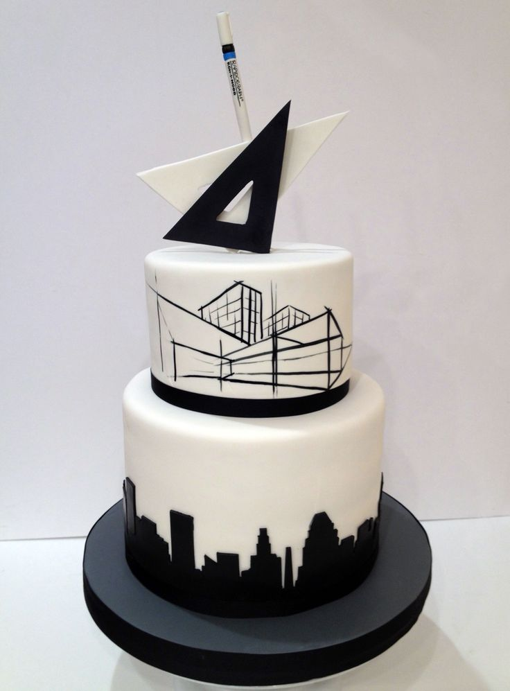 Architect's Retirement cake For La Cakerie                                                                                                                                                      More