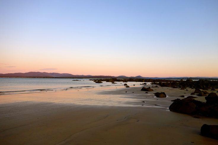 Sunset at HB