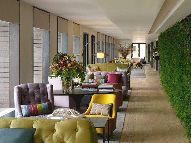 Die besten 25+ Innendesign für Hotellobbys Ideen auf Pinterest - innenraum gestaltung kaffeehaus don cafe
