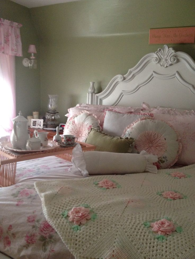 Master Bedroom Painted Sage Green Our Home Pinterest Master Bedrooms The White And Pink