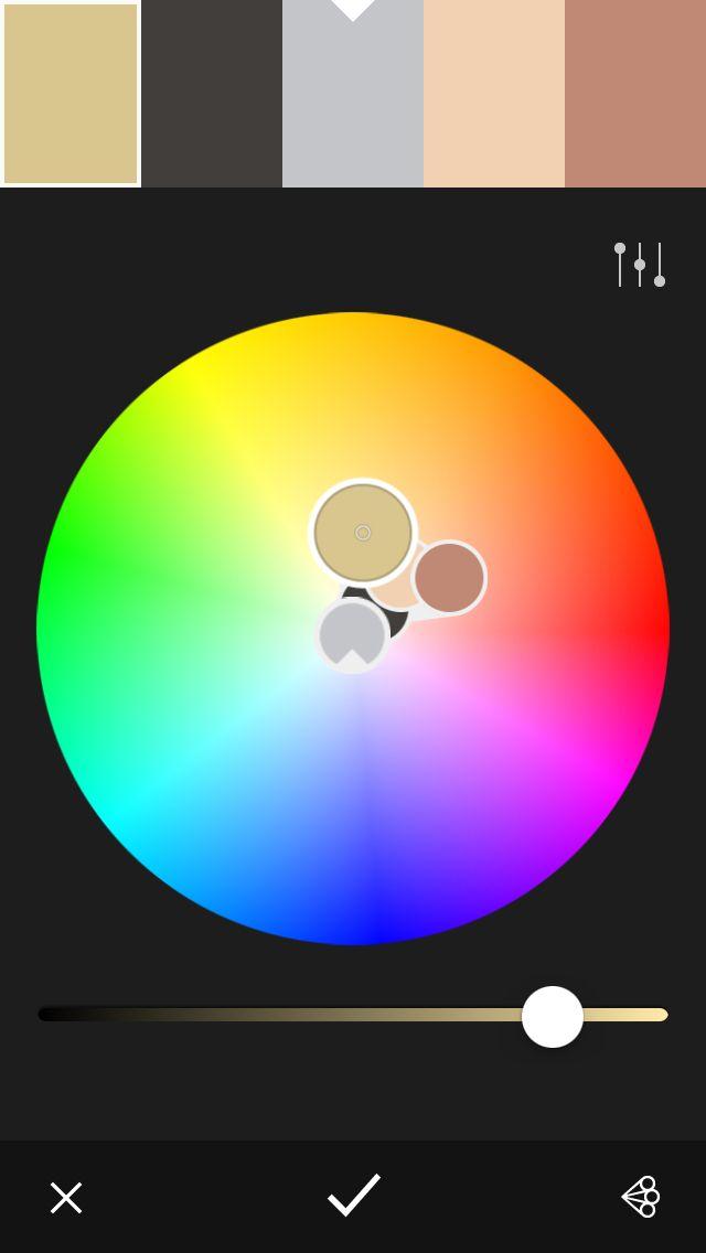 Art almanac graphic cover. This colour scheme uses analogous colours.