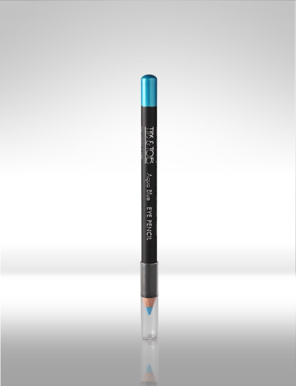 #Blue #Eye #Pencil - Sleek trendy wooden Eye Pencil gives a perfect outline to your eyes. Its smudge free formula defines the eyes perfectly without a messy look. MRP Rs.150/-