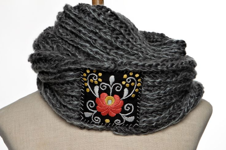 keep warm and look great at the same time with this knitted scarf...oh and did we mention all of our products are HANDMADE?