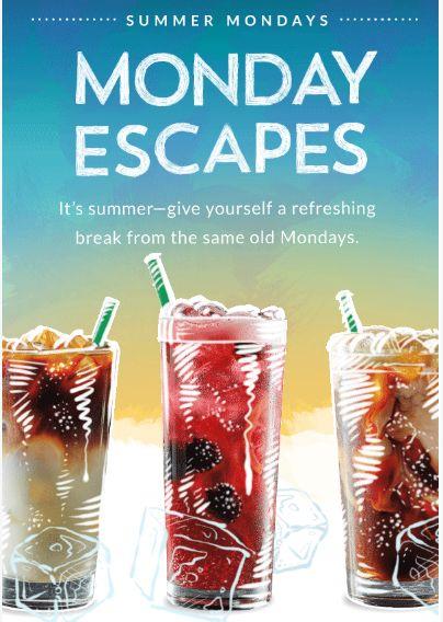Starbucks Rewards Canada Summer Mondays Promotions: Members Get Bonus Stars on Handcrafted Iced Drink Offers http://www.lavahotdeals.com/ca/cheap/starbucks-rewards-canada-summer-mondays-promotions-members-bonus/105844