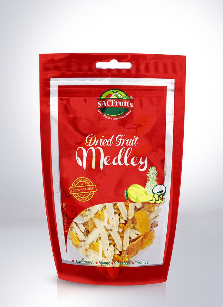 Sac Fruits medley with nuts. Healthy snacks made in Nigeria Bellafricana verified