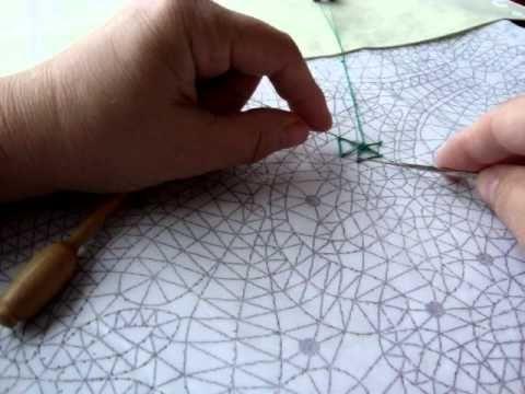 Bobbin Lace - Wheel tutorial