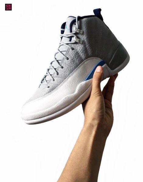 2ba49312f51f0c Who s Pumped For The Upcoming Air Jordan 12 Grey University Blue ...