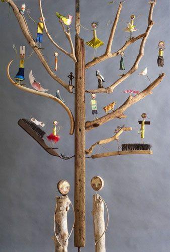 Edwina Bridgeman Orchard exhibition: Tree of life