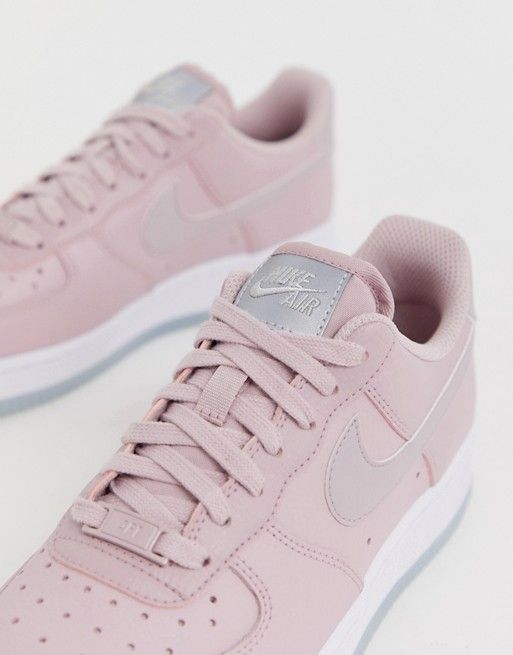 new concept a8587 5828f Nike   Nike Air Force 1 07 trainers in pastel pink