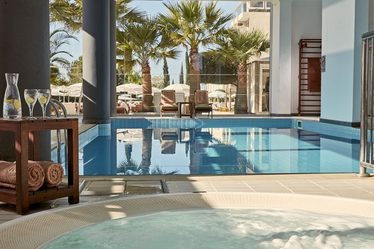 Our indoor pool can be found in the Olympus Health Club.   Enjoy a relaxing swim or relish in the jacuzzi just next to it.   A small children's pool is also available.