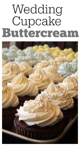 Wedding Buttercream Frosting