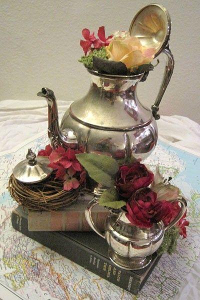 Best antique silver ♠ silverware images on pinterest