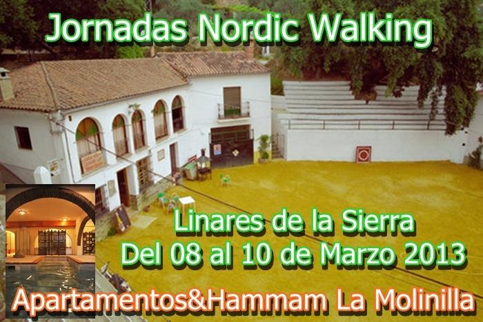 http://jornadasnordicwalking.blogspot.com --- Linares de la Sierra