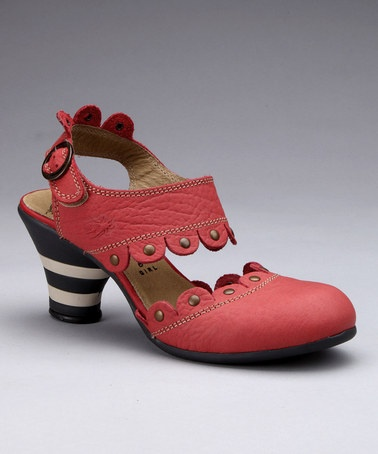 Such a cool shoe! Raspberry Pint Slingback by FLY London on #zulily today!