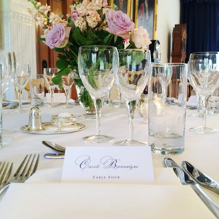 Wedding table styling #blush #placesetting #placecard | The Mansion House Bristol | www.theplanninglounge.co.uk