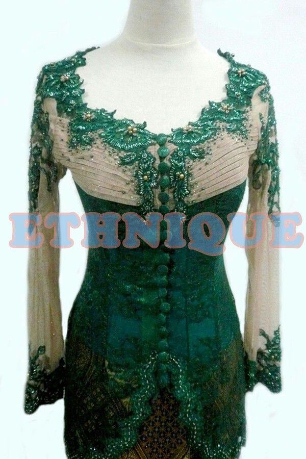 Green Kebaya from Ethnique Kebaya