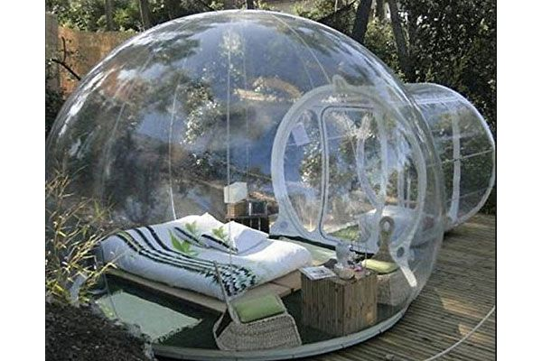 14 Amazing Expensive Gifts For Men (Especially #9 and #12) - Inflatable Bubble Tent