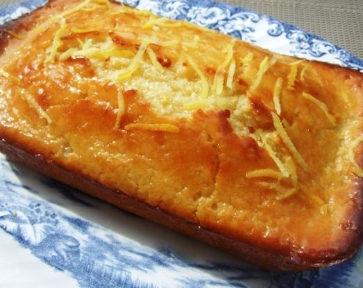 Vanilla Glazed Lemon Loaf Cake Recipe - Food.com: Food.com