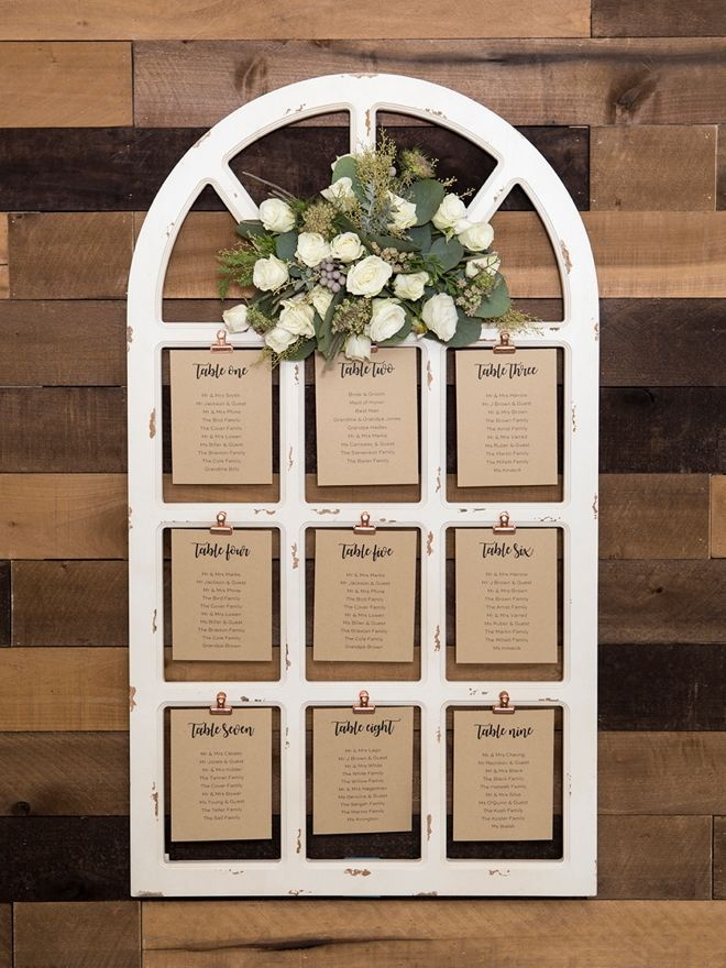 The Best DIY On Creating Your Own Wedding Sign Flower Arrangements!