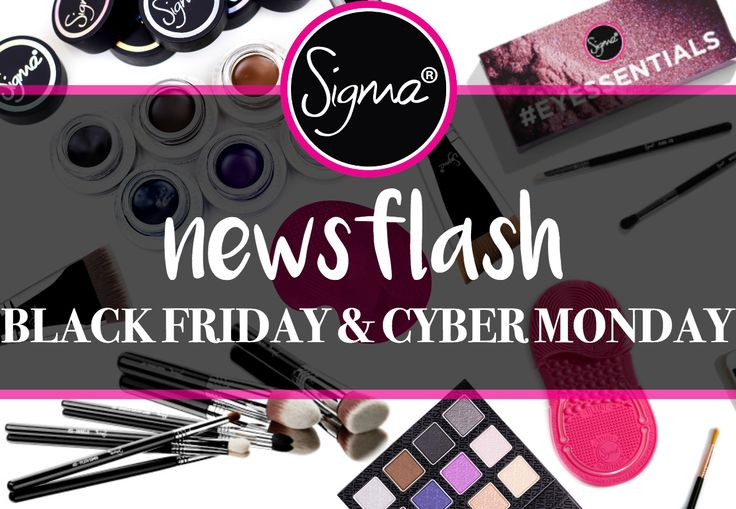 NewsFlash – Black Friday Promotion | Sigma Beauty