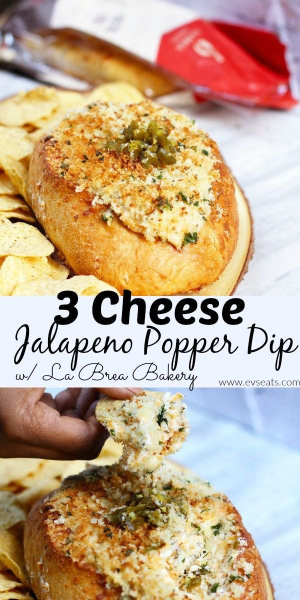 3 Cheese Jalapeno Popper Dip