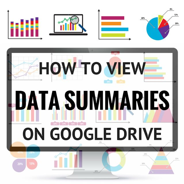 How to See Summaries of Data Collected Through Google Drive (Teaching Special…