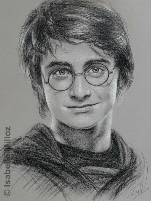 Harry potter dessin portrait recherche google dessin pinterest portrait daniel o - Harry potter dessin ...