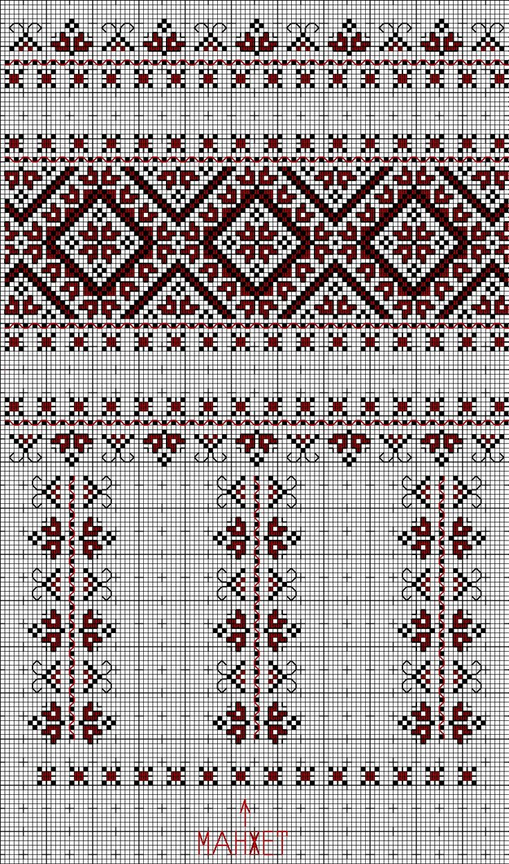Ukrainian embroidered blouse (sleeve)