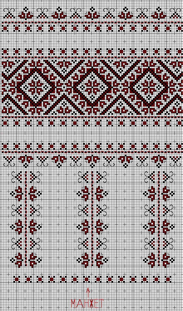 Ukrainian embroidered blouse (sleeve)