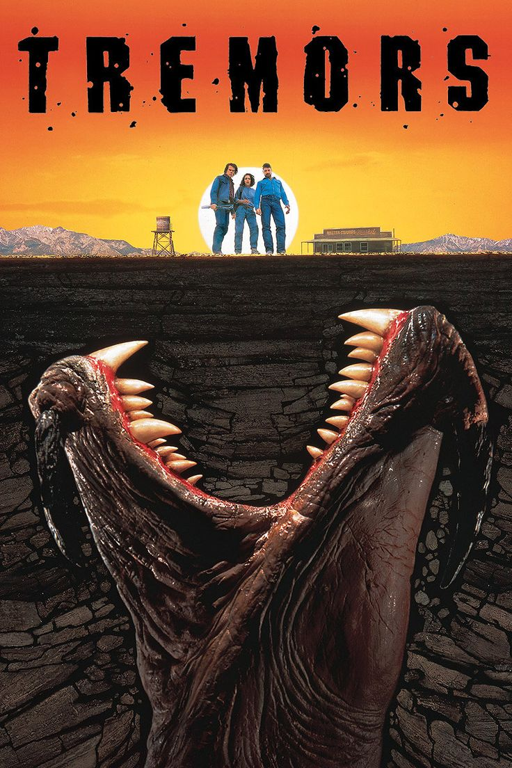 Tremors (1990). I will also accept the sequels as part of the overall awesome entity that is Tremors.