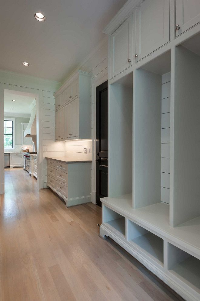 266 best laundries mudrooms images on pinterest for Basement mudroom ideas