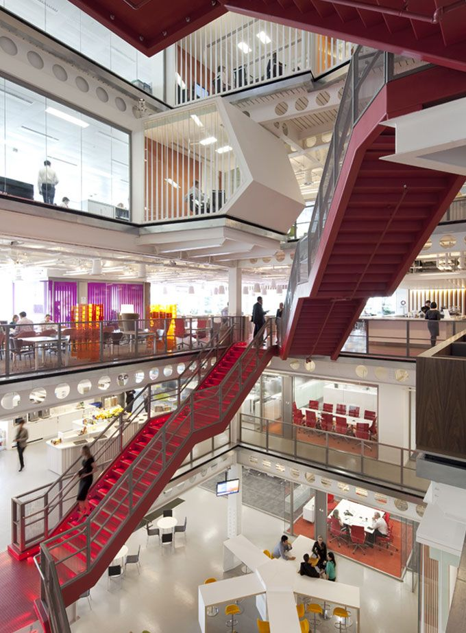 Macquarie Group Offices – London - The Cool Hunter