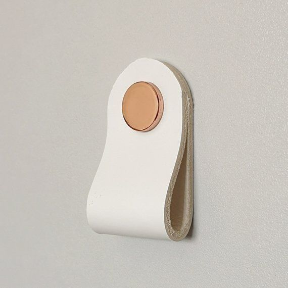 Choose Your Own Unique Look With Our Leather Drawer Pulls In