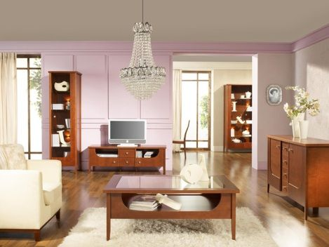 wooden living room furniture - Wooden Living Room