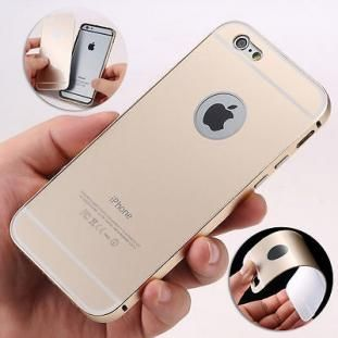 """Produxio.com, $11.31 for a Ultra-thin Aluminum Metal Case Back Cover Skin For iPhone 6 4.7"""" Plus 5.5"""" New"""