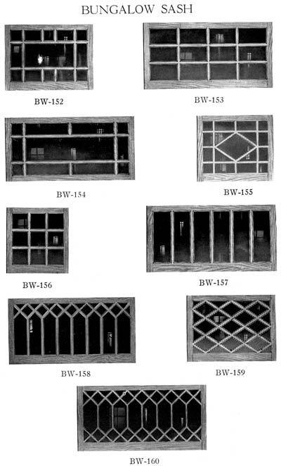 Bungalow Sash Windows