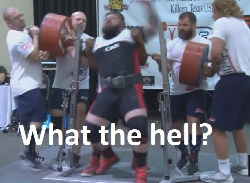 Faulty Spotting At IPF Worlds