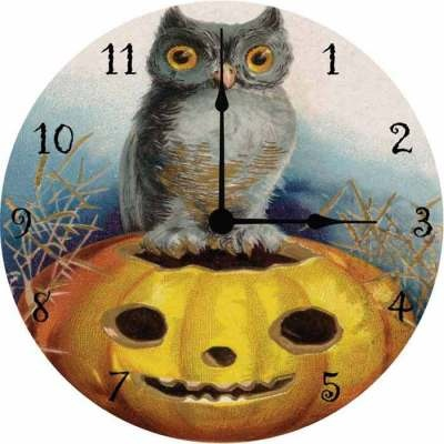Midnight Hours Clock  - victoriantradingco.com  Clock is set at 3a.m. - Dead time, 3.33 is the witching hour when the veil between both worlds is the thinnest. oooooeeeeeooooo