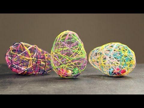 Überrasche bei der diesjährigen Ostereiersuche mit gefüllten Woll-Ostereiern. - YouTube