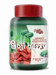 Goji Berry com Vit. C e Picolinato de Cromo 60 cáps. 500mg R$ 33,80