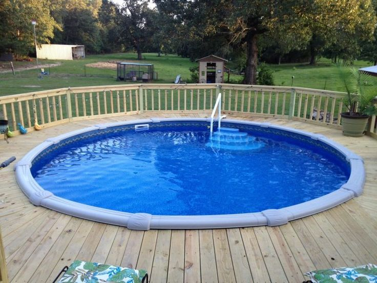 Round Pool, Tyler Texas, Storage Buildings, Pool Decks, Pools, Decking,  Patio Decks, Swimming Pools, Swimming Pool Decks