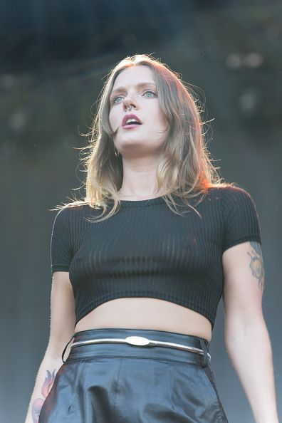 Tove Lo performs on stage during 2015 Music Midtown at Piedmont Park on September 18 2015 in Atlanta Georgia
