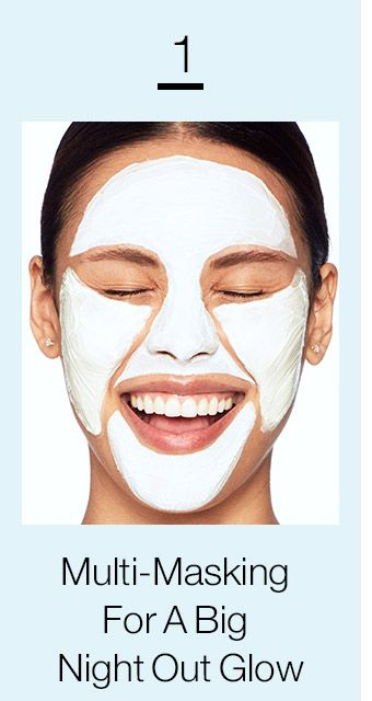 1 Multi-Masking For A Big Night Out Glow READ MORE