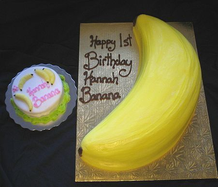 Banana Birthday Cake Thermomix