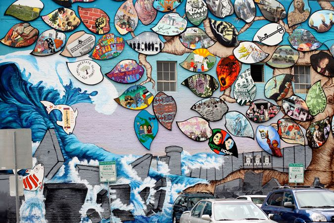 Had to pin a second pic. This mural is EPIC! Might even have more to follow;)