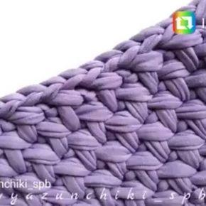 O ponto que vcs queriam.. By @vyazunchiki_spb  #crochet #croche #handmade #tapete #fiodemalha #feitocomamor #feitoamao #trapilho #totora #knit #knitting