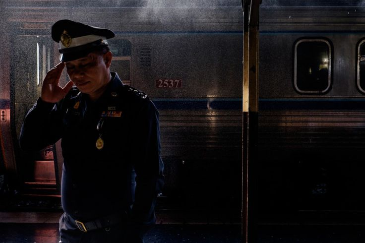A Bangkok Train Station Never Looked So Film Noir | June 2015, Platform 10 | Credit: Rammy Narula | From Wired.com