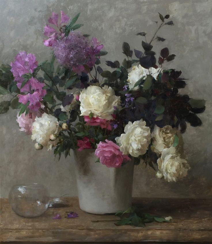 Flower Landscape Oil Paintings