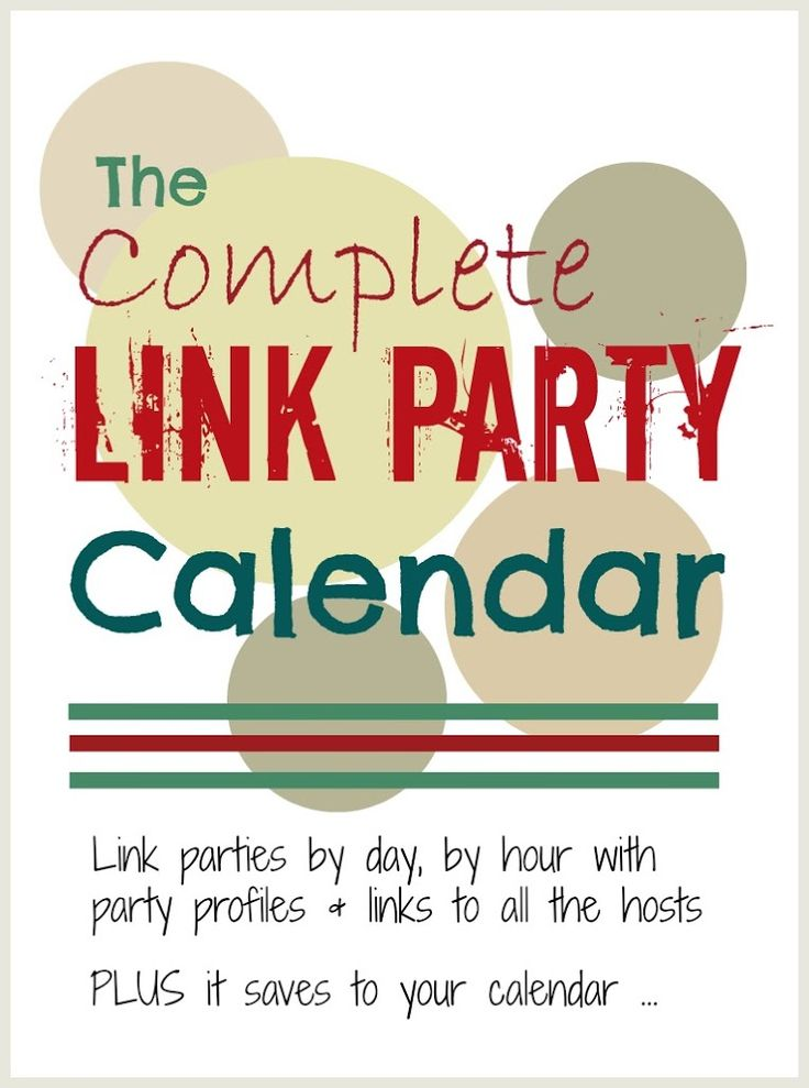Link parties so rock!  They are a brilliant way to find the coolest ideas and tips, meet other bloggers, attract readers and get pinned!...
