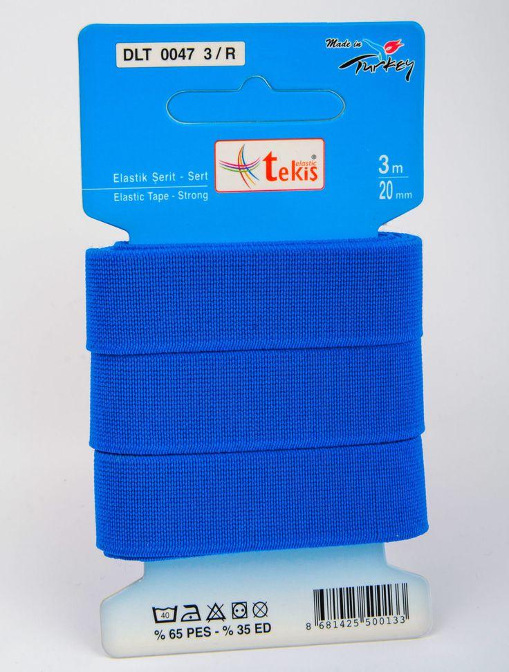 20 mm Elastic Tape / 3 m / Color
